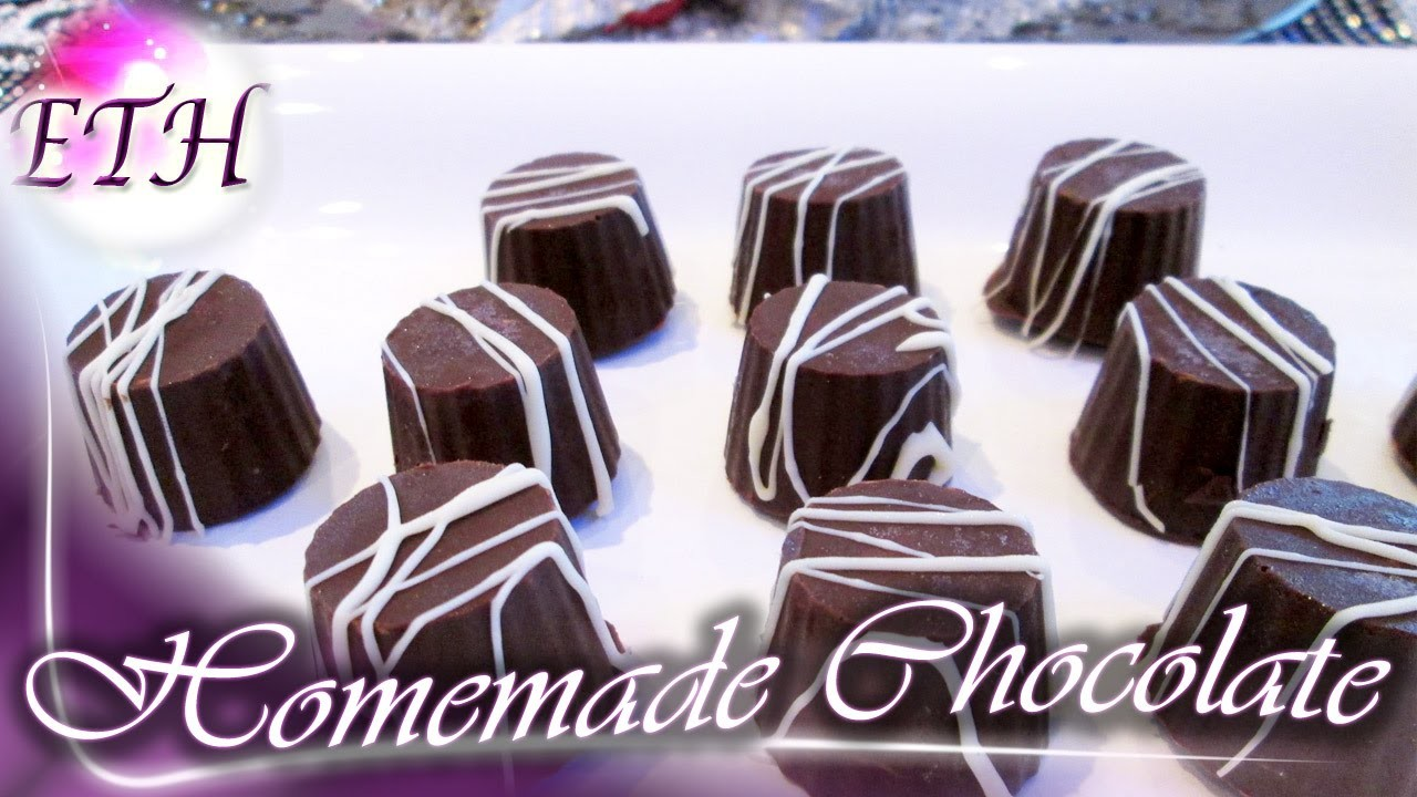 How to Make Homemade Chocolate For Your Kids | Easy Recipe