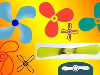 █ How to make propeller at home █