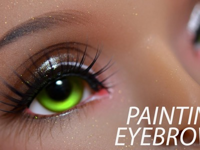 How to Paint BJD Eyebrows