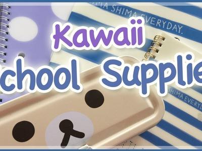 ♡ Kawaii School Supplies Haul ♡ WalMart & ShopKawaii