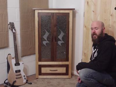 Laser Tutorial: Corner Cabinet w.Etched Glass Doors | Make Something