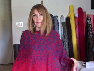 Let's Sew - The Asymmetric Wrap -  Episode 4