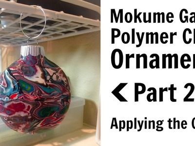 Mokume Gane Ornament Part 2 - Applying the Clay