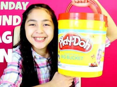 Monday Blind Bag Bin Giant Play Doh Bucket Toys Disney MLP Num Noms B2cutecupcakes