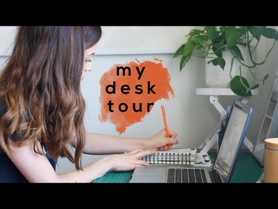 My Desk Tour!