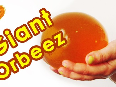 Orbeez giant easy DIY. How to make GIANT Orbeez at home. Giant orbeez - foam bath.