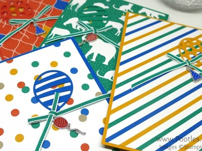 Party Animal Welcome Notebooks for new Stampin' Up! Team Members