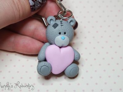 Polymer Clay Valentine's Day Teddy Tutorial