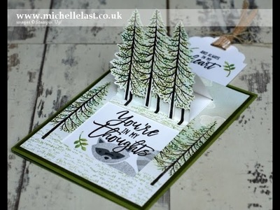 Pop Up Card made using Stampin Up Products
