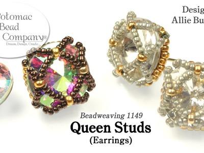 Queen Studs (Earrings) Tutorial