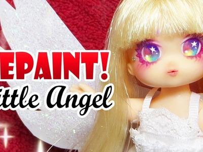 Repaint! Christmas Angel Doll Custom Little Mimi OOAK 리틀 미미 천사 리페인팅