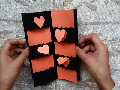 Secret Message Card Tutorial | Valentines Day Cards | Valentine cards | Valentine's day card ideas
