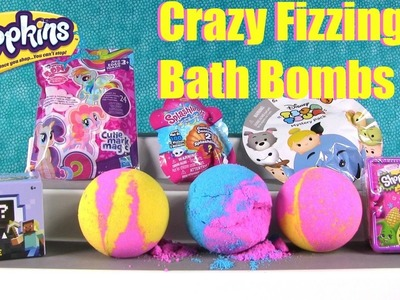 Shopkins Bath Bombs #23 My Little Pony Disney Splashlings Blind Bag | PSToyReviews