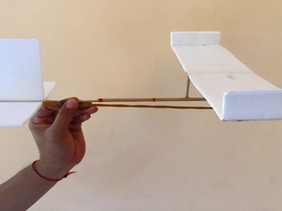 Simple & Fun Life Hacks - How to Make a Rubber Band Plane (Easy)