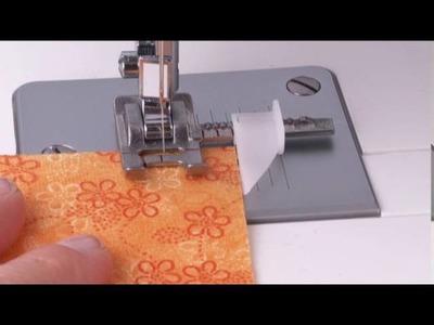 Singer® Sew Easy Presser Foot Tutorial