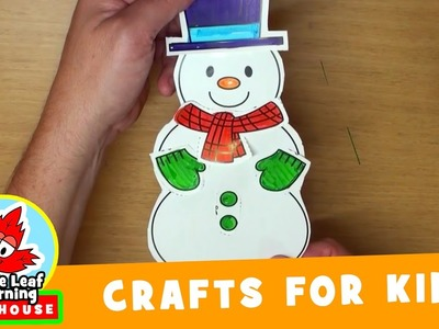 Snowman Craft for Kids | Maple Leaf Learning Playhouse