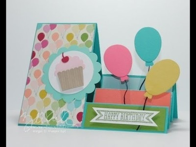 Stair Step Card Stampin Up