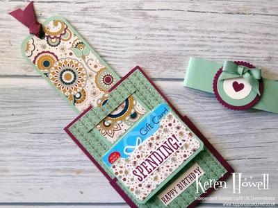Stampin' Up! Flip-Flap gift card holder