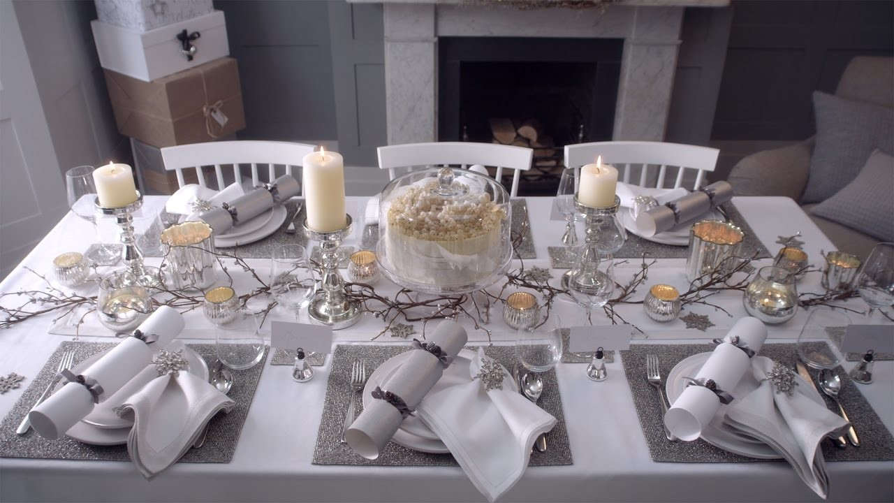 The White Company | How To Lay A Festive Table
