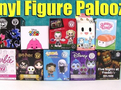 Vinyl Figure Palooza Disney My Little Pony Barbie Moofia Toy Opening | PSToyReviews