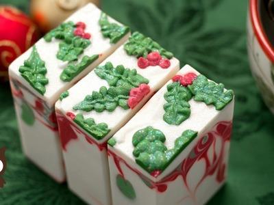Winter Soap Series: Holly Jolly Soap (Full Version) - MO River Soap