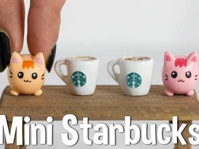 DIY MINI STARBUCKS - World's Smallest Starbucks!