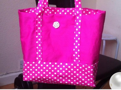 DIY Tote bag ,step by step instructions for beginners