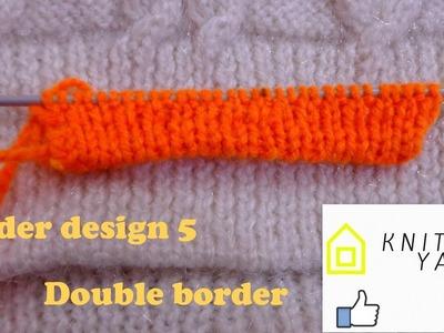 Double Border design 5 (Hindi)