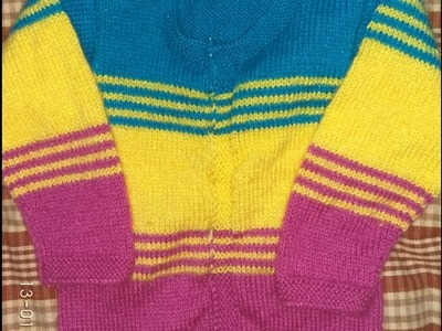 Easy Baby Sweater(2 yrs)| Hindi