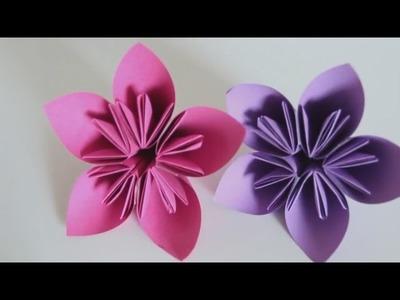 Easy Origami Flower Kusudama - Origami Kusudama Tutorial