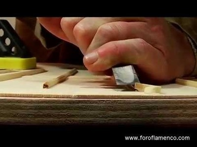 El Guitarrero - the making of a flamenco guitar (Part One)
