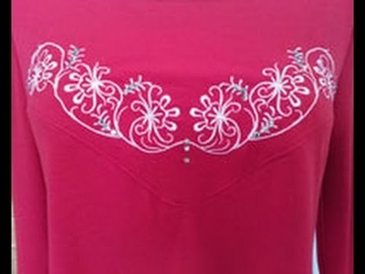 Embroidery Expert Eileen Roche Shows Easy Dress Embroidery on It's Sew Easy (603-3)