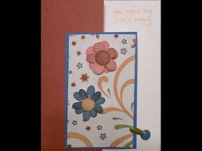 Floral Friendship Handmade Card