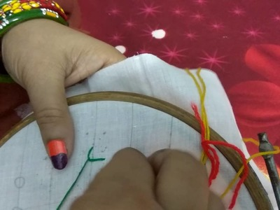Hand embroidery for beginner part 1