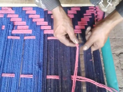 Handmade colourful charpai in phularwan sargodha Pakistan