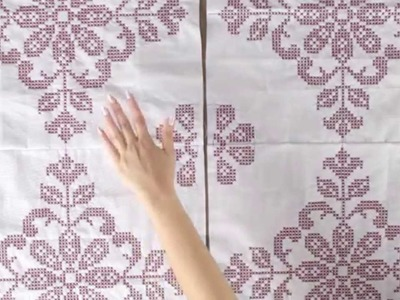 How to assemble interlocking Quilt Block