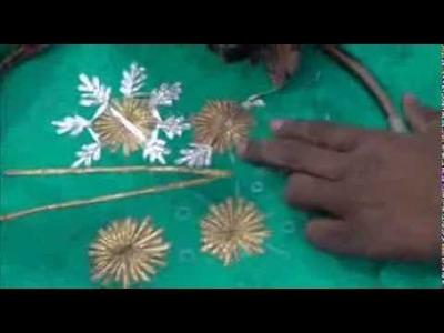 How To Designs Party Wear Salwar Kameez:Neck Design Cutting Sewing Method