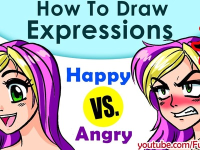How to Draw a Face! 2 Anime, Manga Expressions! Fun2draw