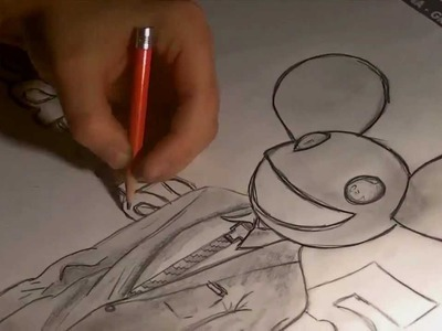 How to draw deadmau5