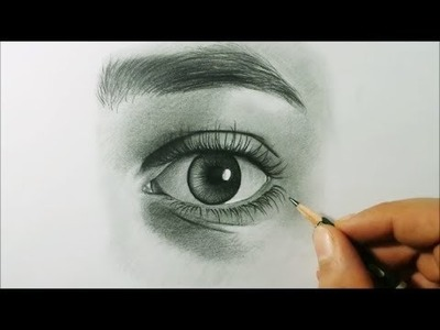 How To Draw Eye And Eyebrows