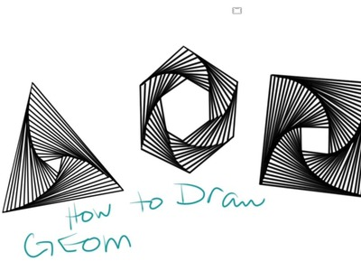 How to Draw Geometric Whirl Doodles