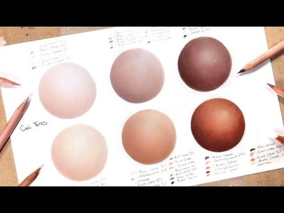 How To Draw Realistic Skin With Coloured Pencils: Part 1