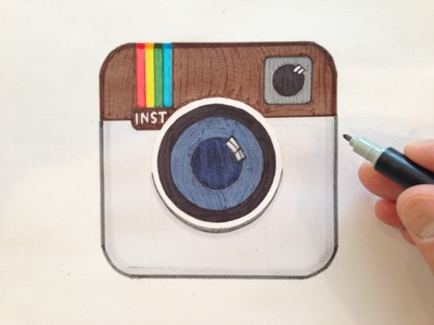 How to Draw the Instagram Logo