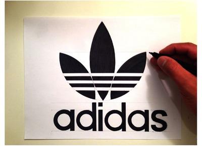 How to Draw the Original Adidas Trefoil Logo