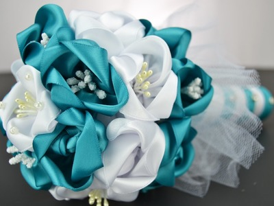How to Make a Bridal Bouquet - Part 3