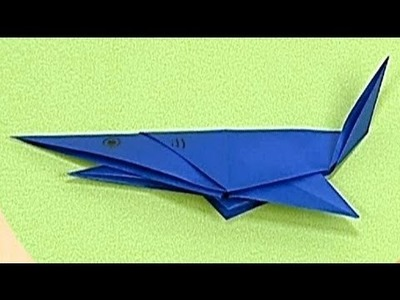 How to make a Paper Shark (Tutorial) - Paper Friends 39 | Origami for Kids