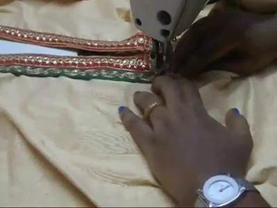 How to make kurta designer neck(DIY)