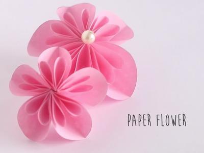 How to make: Paper Flower (Kusudama Flower)