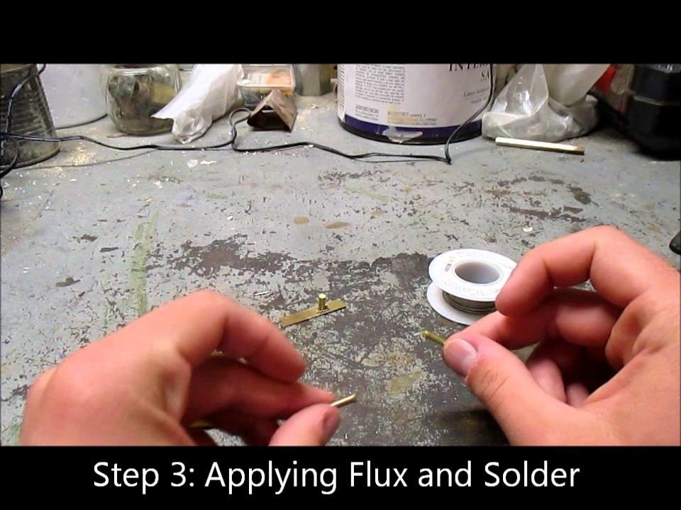 How to Solder Brass