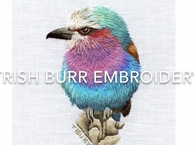 Irregular Long & short stitch part four by Trish Burr